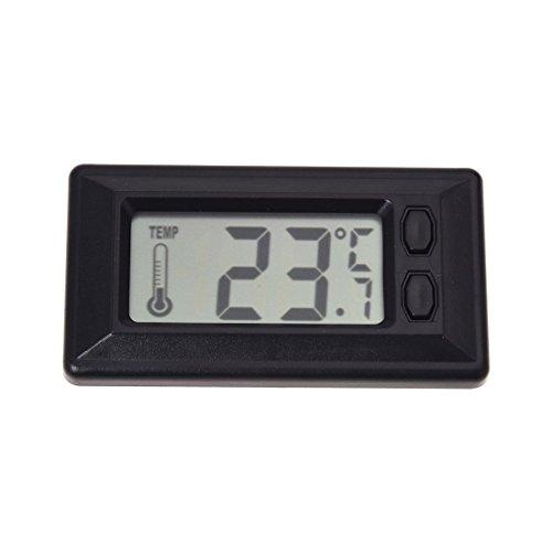 SODIAL(R) LCD-Anzeige Digital Auto Innentemperatur Thermometer