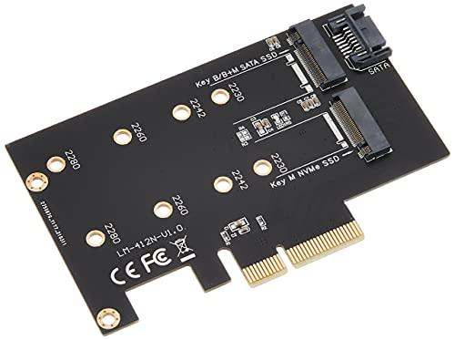 アイネックス M.2 NVMe SSD変換PCIeカード SATAコンボ AIF-09