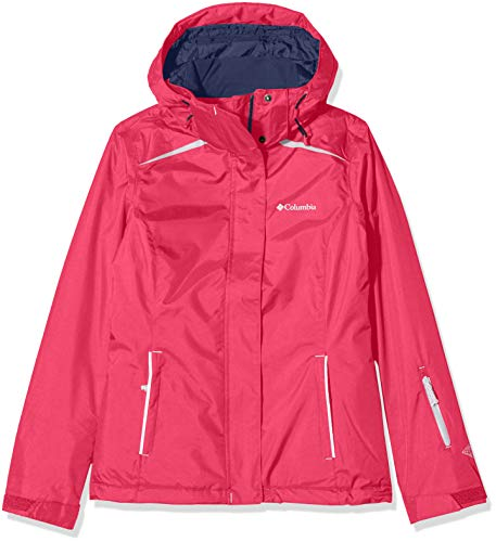 Columbia Femme Veste d'Hiver Imperméable, On the Slope Jacket, Nylon, Rose (Cactus Pink), Taille XS, 1748321