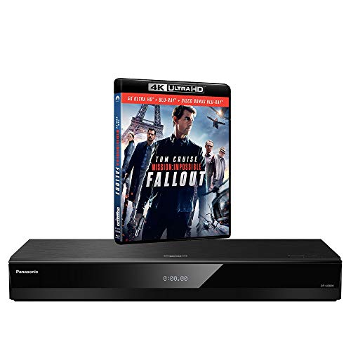 Panasonic DP-UB820 MULTIREGION for DVD Blu-ray Player Bundle with Mission Impossible Fallout...