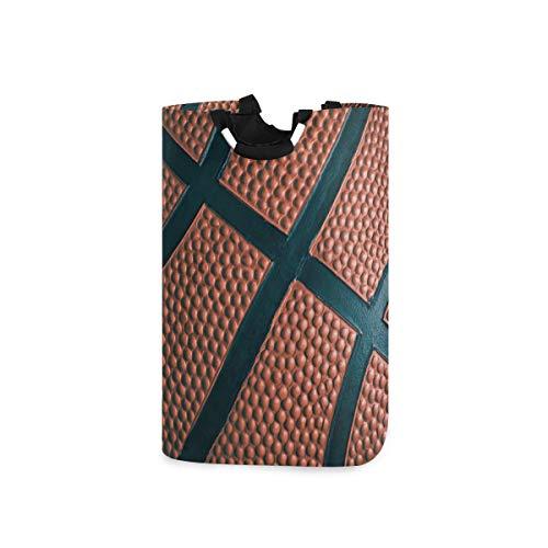 Vinlin Basketball Großer Wäschekorb Zusammenklappbar Wäschebeutel Dreckige Kleidung Wäschetonne für Bad Schlafzimmer Wäschekammer