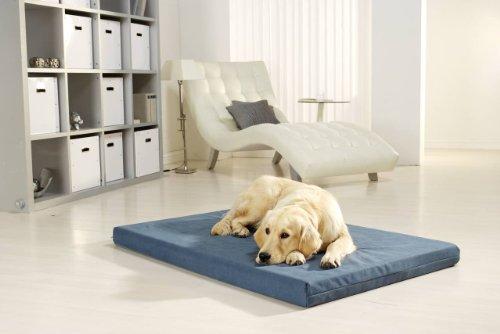 Medizinisches Hundebett PULMACELL safe, 70x100x8 cm, graublau