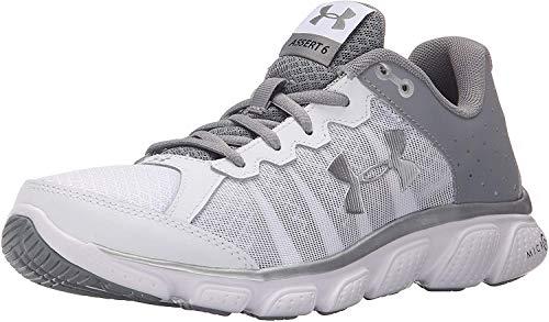 Under Armour UA Micro G Assert 6 - Zapatillas de running para mujer, color Blanco, talla 37.5 EU