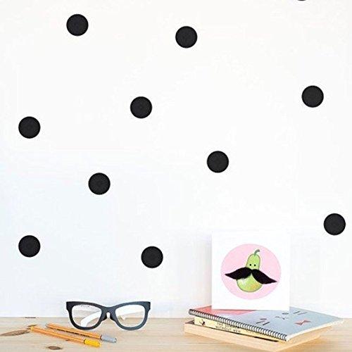 Stickers muraux Noir Style 5 Cm * 20 Pcs Style Scandinave Amovible Points Dorés Enfants Diy Décoration Autocollants