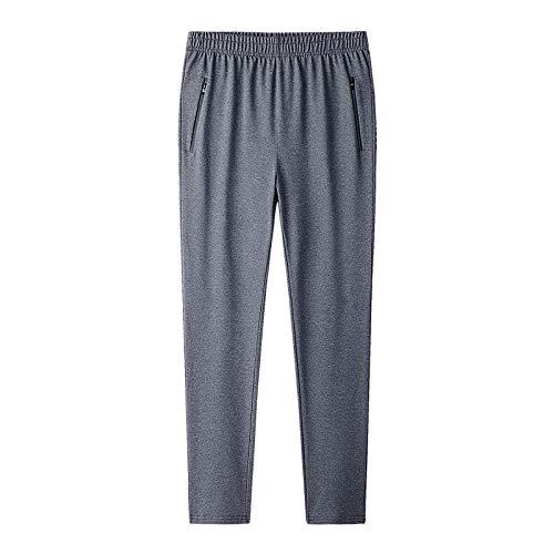 Pantalones De Chándal De Gran Tamaño para Hombre De Talla Grande 7XL 8XL 9XL Joggers Hip Hop Pantalones De Chándal para Hombre Jogger Streetwear Pantalones De Algodón Elásticos-9Xl_Gris 1