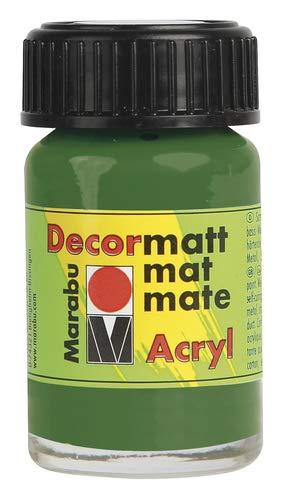 Preisvergleich Produktbild Decormatt Acryl,  Olivgrün 065,  15 ml