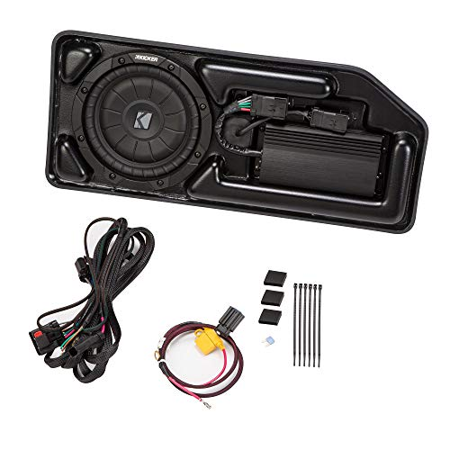 Kicker SCOCRE15 Powered Subwoofer Upgrade Kit for 2015 Chevrolet Colorado And GMC Canyon Crew Cab