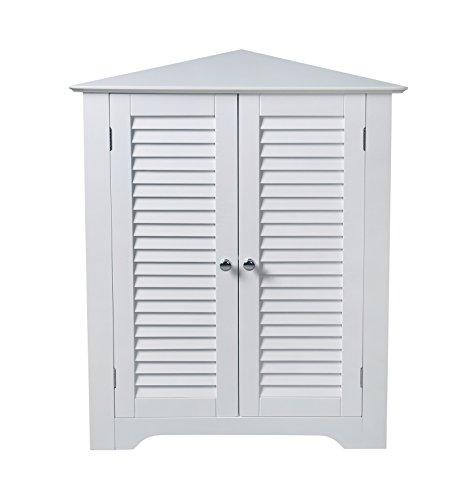 Aspect Odense Bathroom Corner Storage Cabinet, White, 66.5x47x79.5cm