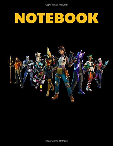 """Notebook: Action Video Game Cover Blank Drawing Book- Large Notebook for Drawing, Doodling or Sketching: 110 Pages 8.5"""" x 11"""" Writing Notebook ... Planner, Diary, Journaling, Gratitude"""