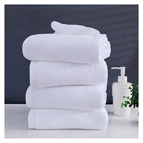 HAYI Juego de Toallas, Gran Toalla de baño Blanco Toalla de algodón Grueso Toalla de Cara, baño, baño, Adulto Toallas de Gimnasio (Size : 35x75cm 150g)