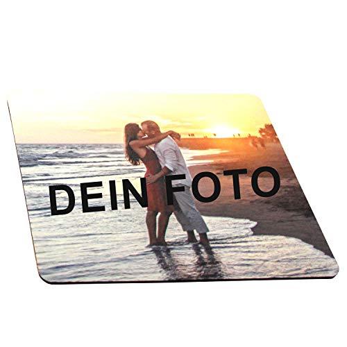 Mousepad mit eigenem Foto bedrucken - Mauspad selbst gestalten (24 x 19,5 cm) Wunschbild