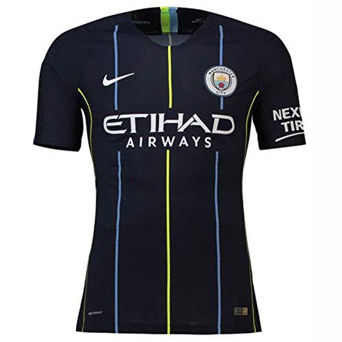 NIKE 2018-2019 Man City Vapor Away Match Football Soccer T-Shirt Camiseta