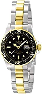 Women's Invicta Pro Diver Swiss Unidirectional Two Tone Blue Dial 4867