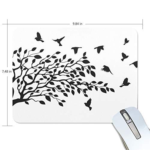 Preisvergleich Produktbild Mauspad,  Mauspad,  Mauspad,  Mauspad,  Mauspad mit Motiv Malpala,  rutschfeste Gummiunterseite,  Schwarz / Weiß