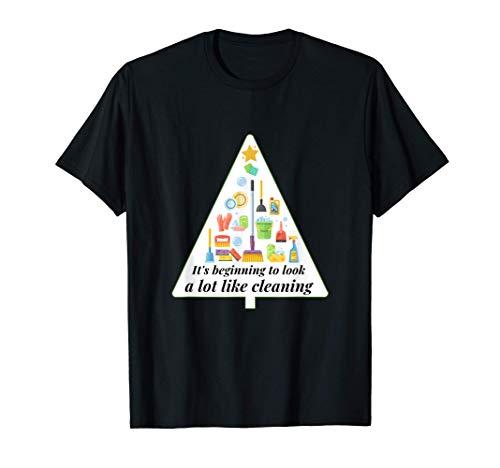 Se parece mucho a la limpieza de la Navidad inglesa Camiseta