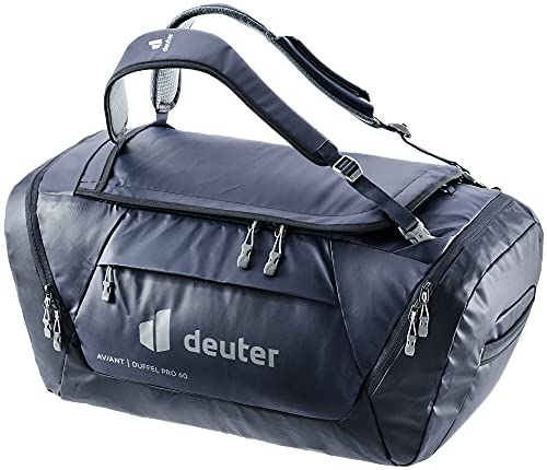 Deuter AViANT Duffel PRO 60, Borsa Sportiva Unisex-Adult, Marine-Ink, 60 L