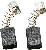 Escobillas de carbón Buildalot Specialty ca-07-86835 para Makita Cortasetos UH3000-5x8x11 mm - Con resorte, cable y conector - Reemplaza partes 191914-5 & CB-70