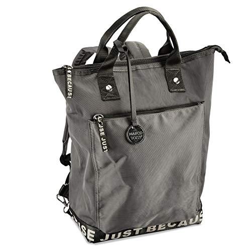 MARCO TOZZI Damen Handtasche 2-2-61023-25, GREY, 1 EU