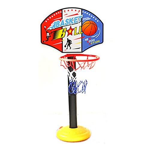 Soporte de Baloncesto portátil Padre-niño Baloncesto Hoop Toys, Juguetes de Tiro portátiles para Interiores y Exteriores, Juguetes de Tiro al Aire Libre