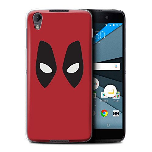 Stuff4 VAR for JP-Marvel BlackBerry Neon/DTEK50 Deadpool masker geïnspireerd