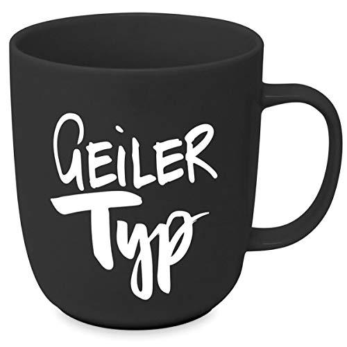 Design Porzellantasse Tasse Henkelbecher Kaffee-Becher 350ml - Geiler Typ