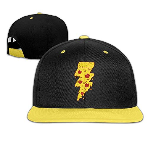Fun Kids Hip Hop Baseball Caps and Hat Boy Girls Flash Pizza