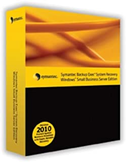 Symantec Backup Exec System Recovery 2010 Windows Small Business Server Edition with 12 Months Essential Support