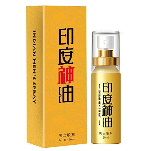 PanDaDa Men Massageöl Spray für langes Sexualleben, männlicher Penis Erektionscreme Enhancer für Männer, Sex Delay Spray Dicker und längerer Penis Sexuelle Ejakulation Delay Spray, 10ml