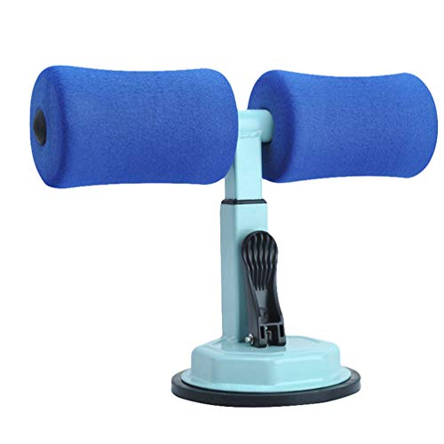 Heheja Sit-ups Assistive Sitzhilfe Lazy Bauch Saugnapf Fitnessgeräte Home Multifunktions-Saugnapf für Aufstehhilfe BauchgeräT Abnehmen Yoga Fitness Blau1
