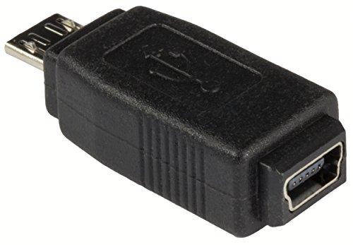 mumbi Micro USB Adapter - Micro USB auf Mini USB - USB Micro-B Stecker auf Mini-USB 5-Pin Buchse