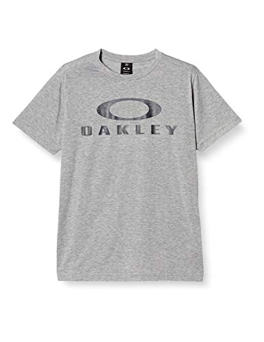 Oakley Men's Enhance Technical Qd Ss Tee.18.08, Light Heather Grey, M