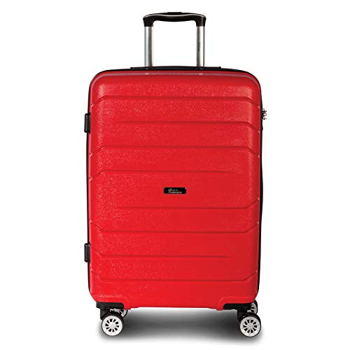 Fabrizio Trolley 3er Set Alpha Koffer-Set, 76 cm, 99L, Rot