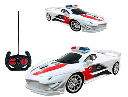 Brinquedo Infantil Carrinho De Policia Controle Remoto Luz carrinho controle remoto viatura policia milita a pilhas cores sortidas