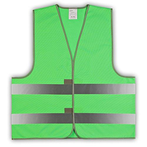 easyMesh® Kinder Signalweste Warnweste Grün Größe: XS (ca.3-6 Jahre)