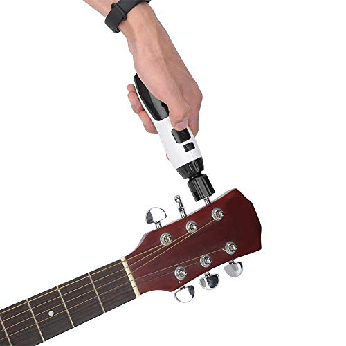 3 In 1 Rechargeable Electric Guitar String Winder Bridge Pin Remover for Banjo Guitar Bass Mandolin Ukelele