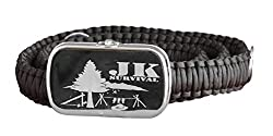 JK Survival Paracord Belt with Emergency Safety Kit