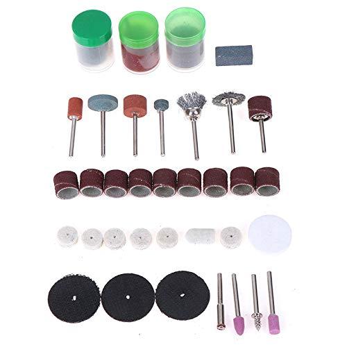 KUQIQI New 105Pcs Mini Electric Drill Grinder Rotary Tool Grinding Polishing Cutter Set Hot