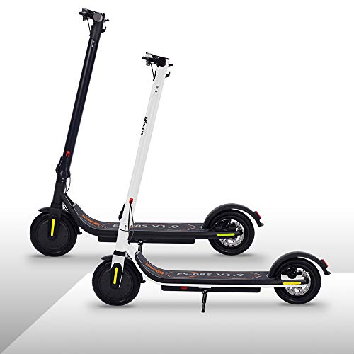 Electric Scooter Adults with APP,LCD Display,Fixed Speed Cruise,7500mAh Battery Long-Range,3 Speed Adjustable,8.5 inch Max 350w Motors,3 seconds Folding Bluetooth E-Scooter for Adult and Teenager