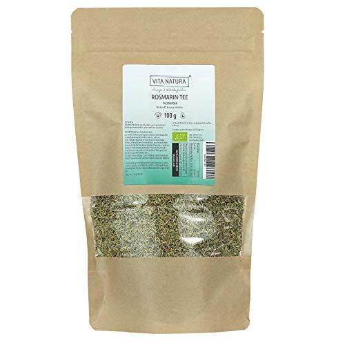 Vita Natura Rosmarin Tee, loser Arzneitee, Bio, 1er Pack (1 x 100 g)