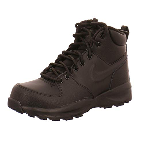Nike Boys Manoa Ltr (Gs) Fashion Boot, Black/Black-Black, 40 EU
