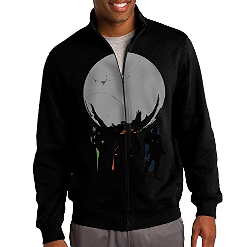 Destiny Game Hunter Warlock Titan Men's Casual Zipper Hoodies Jacket Black