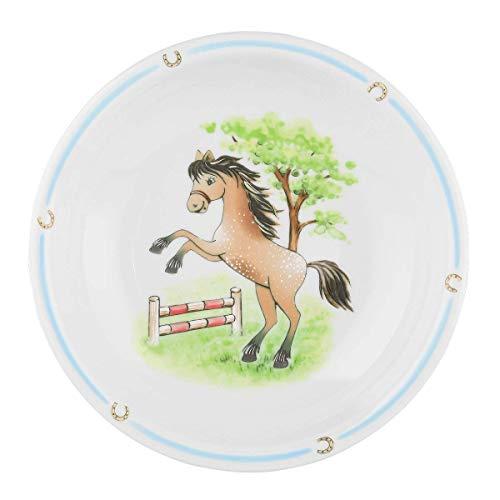 Seltmann Weiden 001.716559 Compact Mein Pony Suppenteller Rund, Bunt