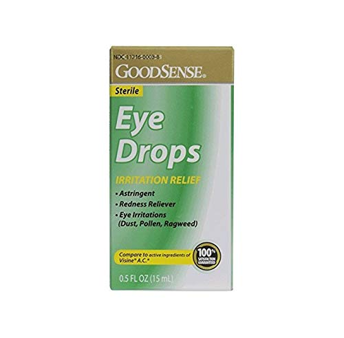 Goodsense Eye Drops Ac Irritation Relief, Green, 0.5 Fluid Ounce