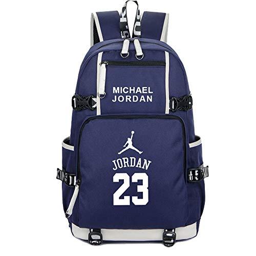 SJYMKYC Zaino Da Basket Fans School Backpack Michael Jordan Zaino Messenger Zaino Sport Zaino Leisure Zaino Da Viaggio Zaino Da Palestra