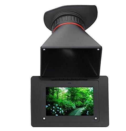 Gowe elektronischen Sucher 2,5x Vergrößerung SDI 8,9cm LCD-Bildschirm für DSLR Kamera Video BMPCC BMPC BMCC GH4FS7A7S