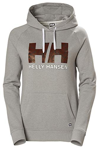 Helly Hansen W F2f Cotton Hoodie Sudadera con Capucha, Mujer, 841 Penguin, XL