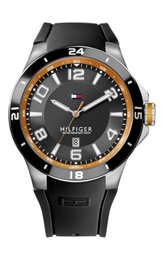 Tommy Hilfiger Herren-Armbanduhr Cool Sport XL Analog Quarz Silikon 1790861