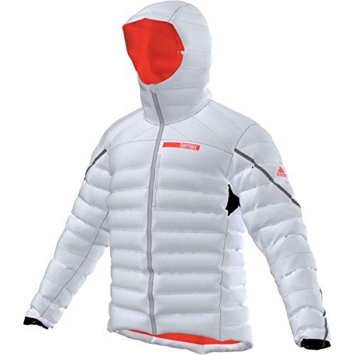 adidas Outdoor Herren Terrex Swift Climaheat Agravic Daunenjacke, Herren, Grau/transparent, XXL