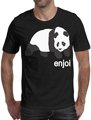 JEFFERYjSPARKS ludouqingJ Camicie e T-Shirt Sportive Top e Bluse, Wankens Mens Tshirt Cotton Short Sleeve Style Enjoi-Logo- Tshirts