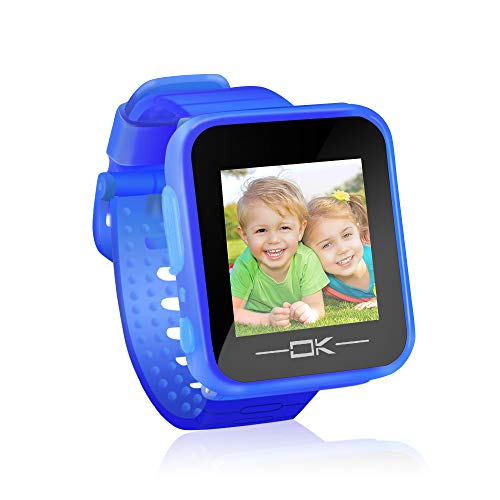 Pussan Toys for 3-6 Year Old Girls Smart Watches for Kids Button Toddler Watch with Camera USB Charging Best Christmas Birthday Gifts for Kids Smartwatch Kids Watches for Boys Girls VTech Kidizoom